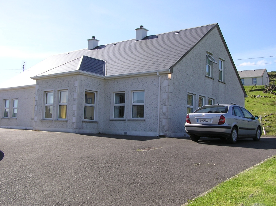 On campus accomodation in Gleann Cholm Cille